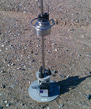 mini faldlod compressor til geoteknisk analyse.