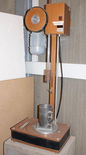 Proctor indstampning compressor til geoteknisk analyse.
