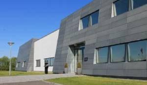 Højvangs laboratoriebygning i Dianalund.